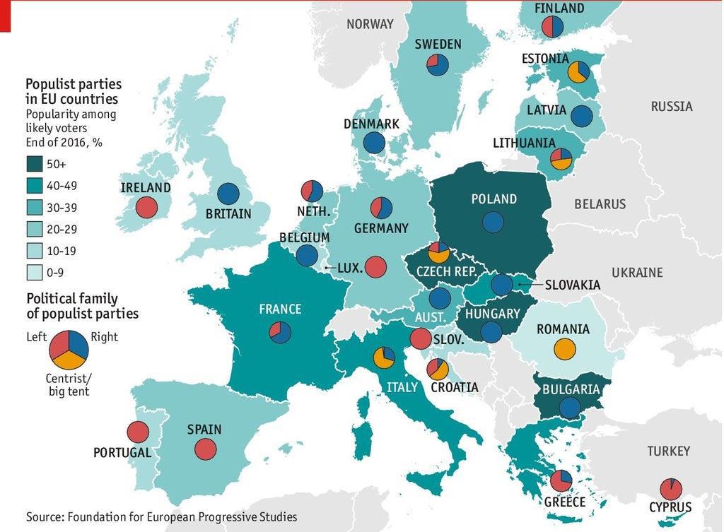 Euroopassa Maapera Populismin Ja Nationalismin Nousulle Kd Lehti