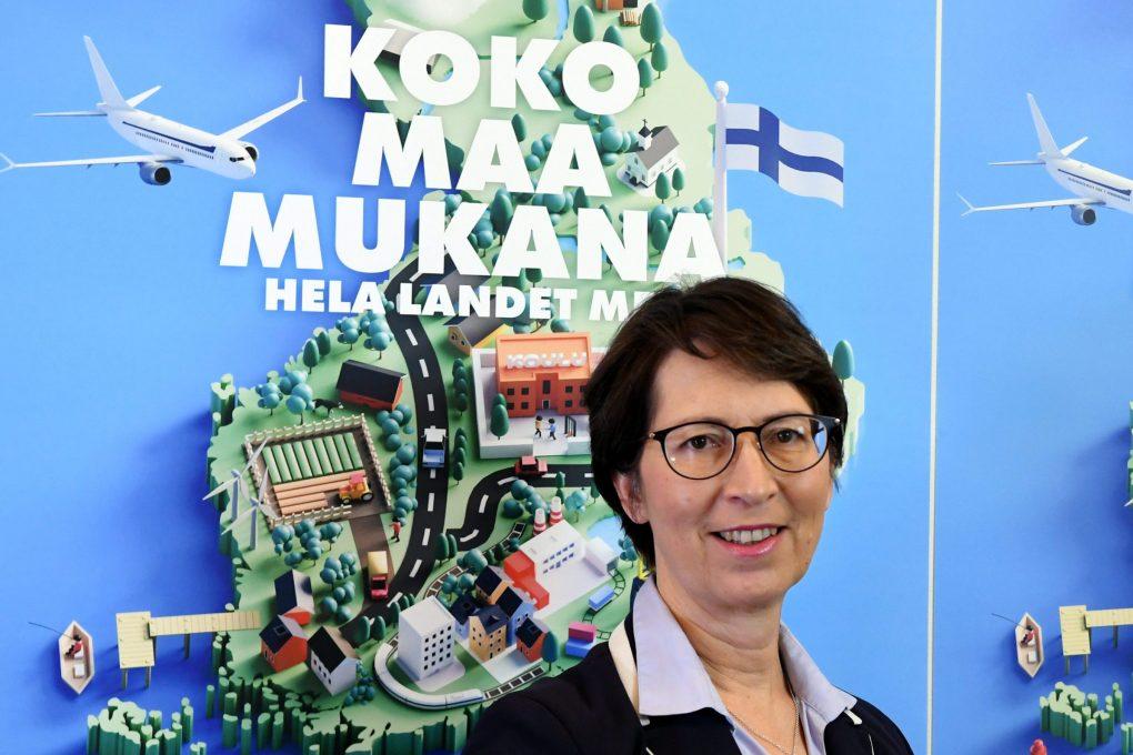 """– KD lähtee kuntavaaleihin torjumaan alueiden ja ihmisten eriarvoistumista """"Koko maa mukana""""-teemalla, Sari Essayah kertoo"""